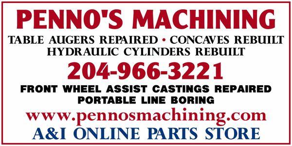 PENNO'S MACHINING & MFG. LTD